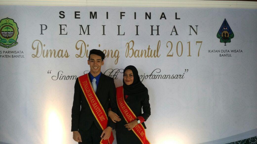 Fiorentina Indhi Mentari tampil dalam Semifinal Dimas Diajeng Kabupaten Bantul 2017